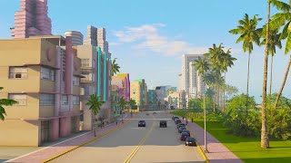 GTA Vice City REMAKE Mod In GTA 5 Looks INSANE