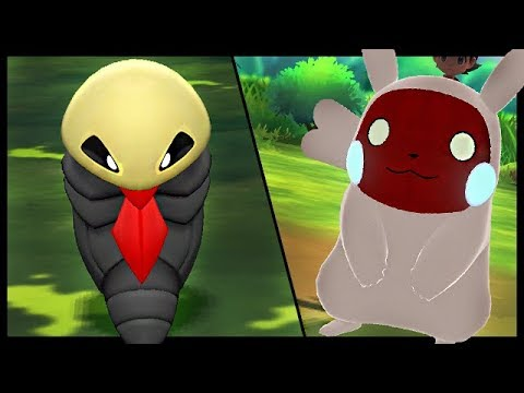 The WEIRDEST Pokemon Lets Go Mods - Lets Go Pikachu And Eevee