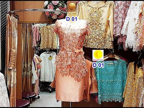 Chantubtim TV ตอน ร้าน ลูกไม้ไทย แบบ เสื้อ เดรสผ้าไหม+ลูกไม้ Silk Lace Dress EP 60