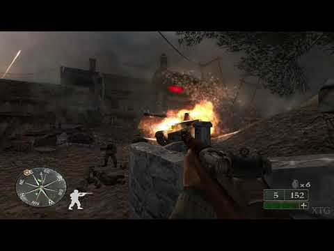 Call Of Duty 2: Big Red One GameCube Gameplay HD (Dolphin Emulator)