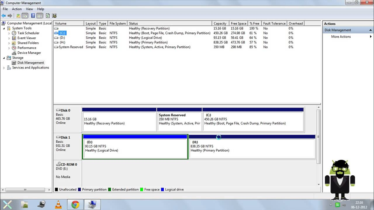 How to split a disk on Windows 8 71