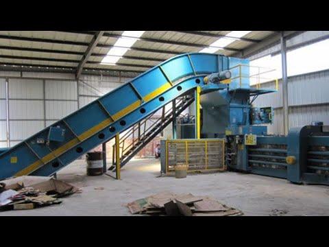 cardboard-recycling-baling-machine-industrial