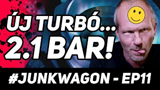 #Junkwagon Episode 11. - 2.1 bar on stock internals??
