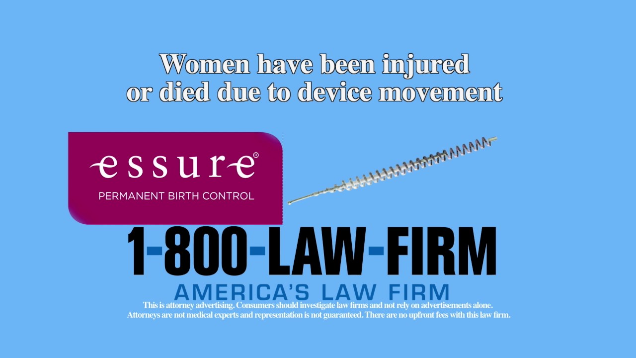 Essure | 1-800-LAW-FIRM