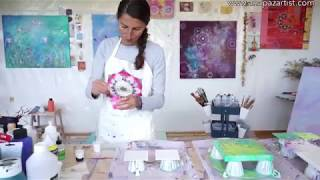 Acrylic Pouring Workshop - www.anapazartist.com