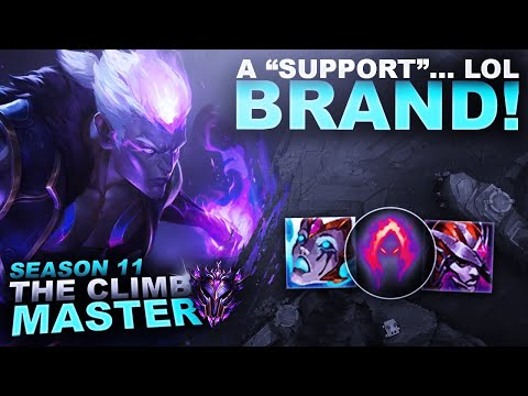 """BRAND """"SUPPORT"""" IS SOMETHING ELSE... - Climb to Master S11 