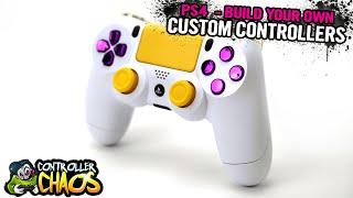 Customize PS4 Controller - Custom Controllers - Controller Chaos