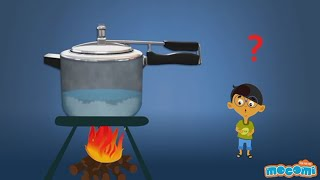 How does a Pressure Cooker Work? - Science for Kids | Educational Videos by Mocomi Kids