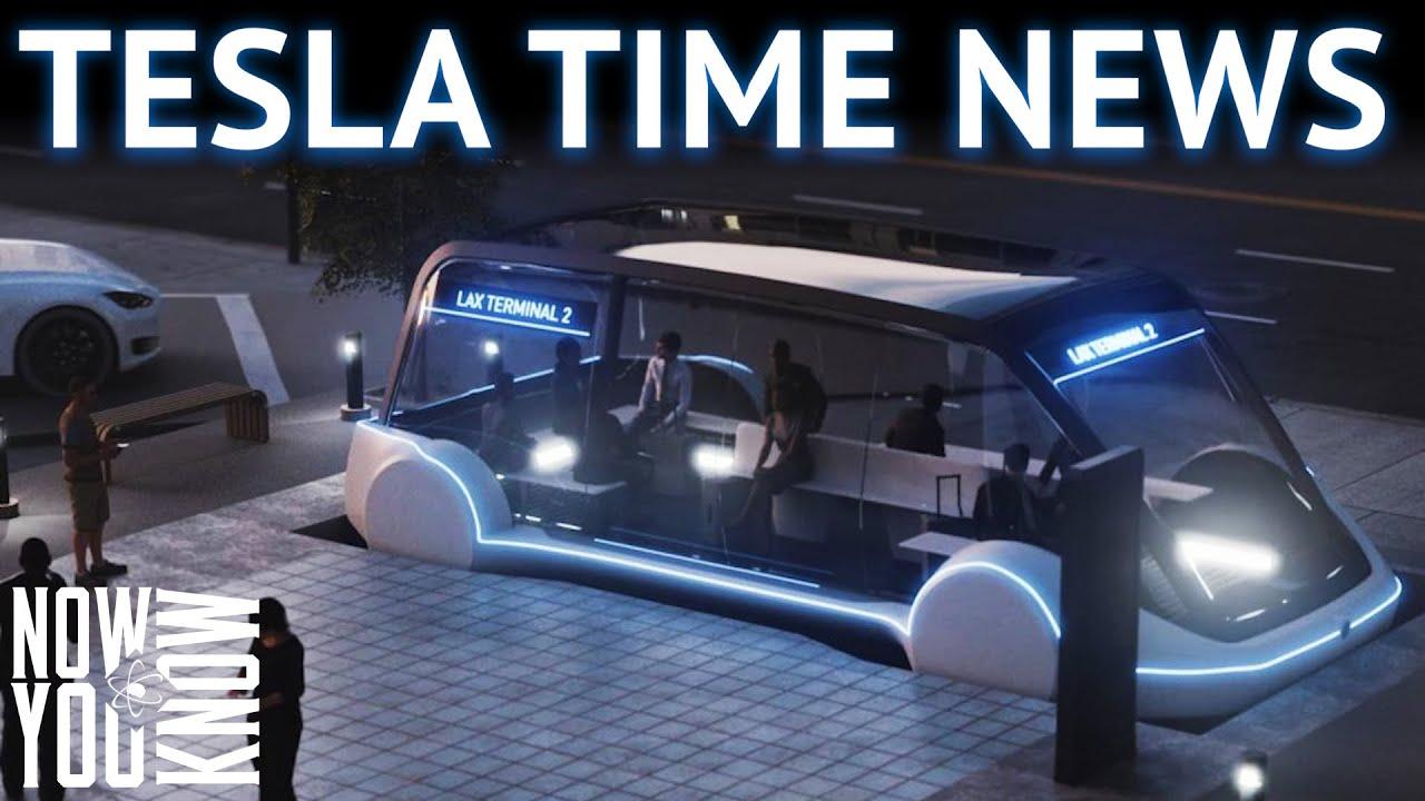 Tesla Time News - Tesla's New Boring Vehicle Leaked? - YouTube