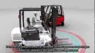 Электрические погрузчики Linde 386.Активная система управления. Комбимост.(, 2014-02-19T07:57:22.000Z)