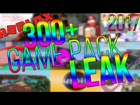 ROBLOX GAME PACK LEAK! (300+ GAMES + SCRIPTS) (WORKING/2017