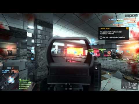 battlefield 4/ultra 1080p/ field of view 100/ Operation Metro.