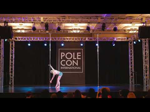 2017 PoleCon, Youth Showcase, Haley Pafford    Pole Sport