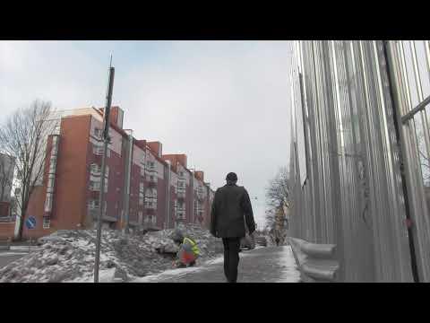 Painting Snow - video