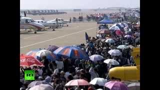 «Русские витязи» выступили на авиашоу в Китае