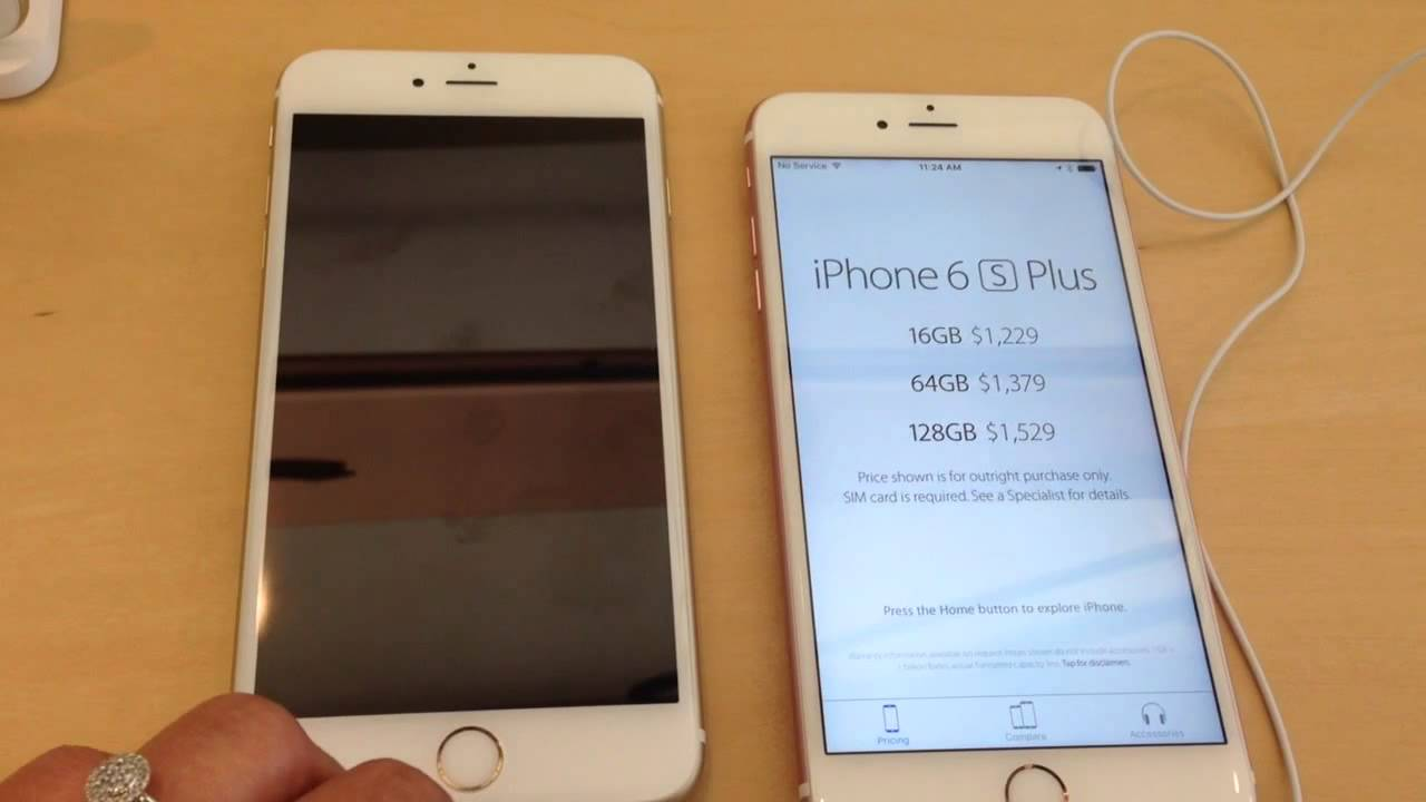 IPhone 6 Plus Gold Or Rose