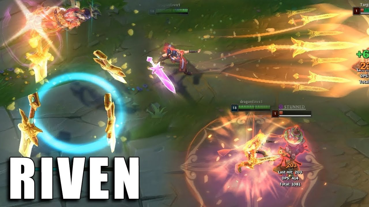 Riven Espada Valente League Of Legends Previa By Spotlightbrasil