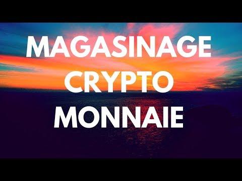 Live! Magasinage de crypto monnaie
