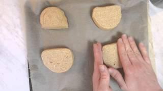 Bio 100% Vollkorn Brötchen(Brot) Selber Backen mit Hefe