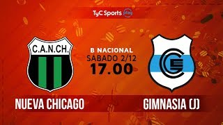 Nueva Chicago vs Gimnasia J full match