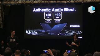 MSI keynote at CES 2019 - MSI Stealth with Nvidia Geforce RTX and MSI Prestige Modern with Discovery