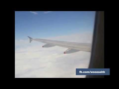 Another plane's wing hit by buk