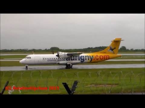 Windy Evening at Manchester Airport 27th May 2015