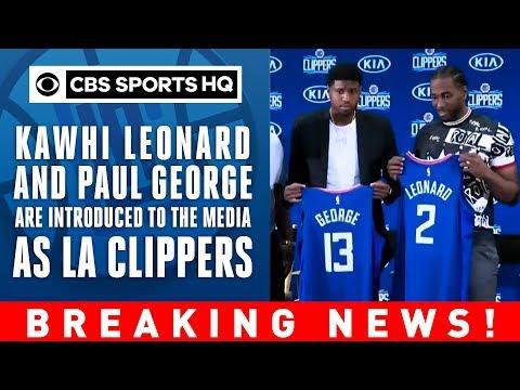 Kawhi Leonard thanks Toronto   Steve Balmer FIRED UP   Clippers Press Conference   CBS Sports HQ