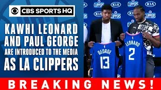 Kawhi Leonard thanks Toronto | Steve Balmer FIRED UP | Clippers Press Conference | CBS Sports HQ