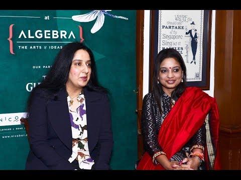 Swati Chaturvedi & Sadhavi Khosla @Algebra