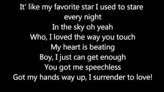 Alex Gaudino Ft Kelly Rowland What A Feeling Lyrics On Screen