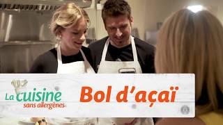 La cuisine sans allergènes : Bol d'açaï