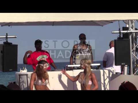 Snoop Dogg DJ set at Eden Plage in Saint Tropez