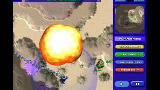 Moonbase Commander: 4 Man FFA, A Game of Attrition 4/11/13