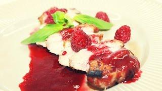 Утиная грудка с малиновым соусом рецепт - Duck Breast Dish Recipe