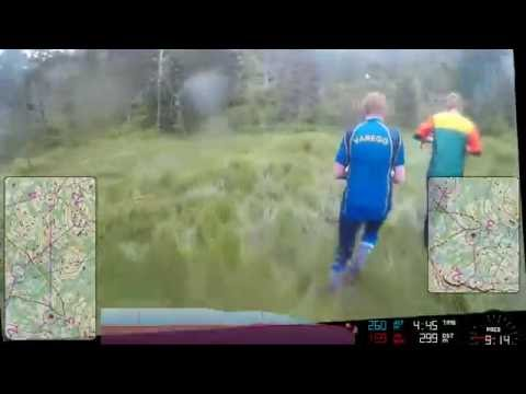 HeadCam Orienteering - Michal Pátek [Fjord-O 2016 - day 4]