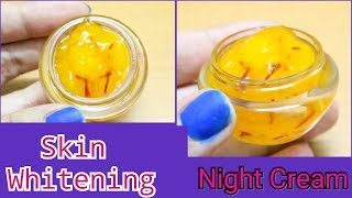 HOMEMADE NIGHT CREAM FOR FAIRNESS | get Glowing, Fair & Younger Looking skin