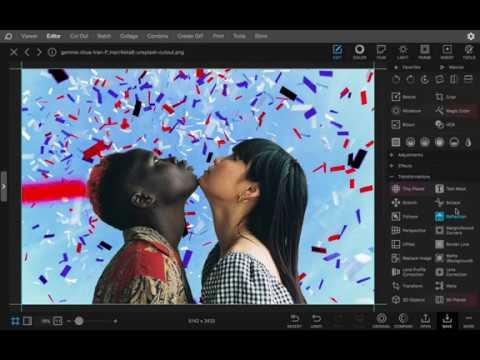 Change Background (Cut Out + Matte) - PhotoScape X 4.0