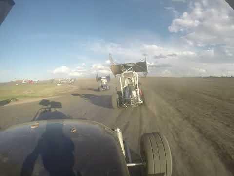 7/6/19 Main Event. Colorado Outlaw 270 Micro Sprints. I-76 Speedway, Fort Morgan Colorado