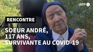 Download lagu Doyenne des Européens et rescapée du Covid, Sœur André fête ses 117 ans jeudi | AFP