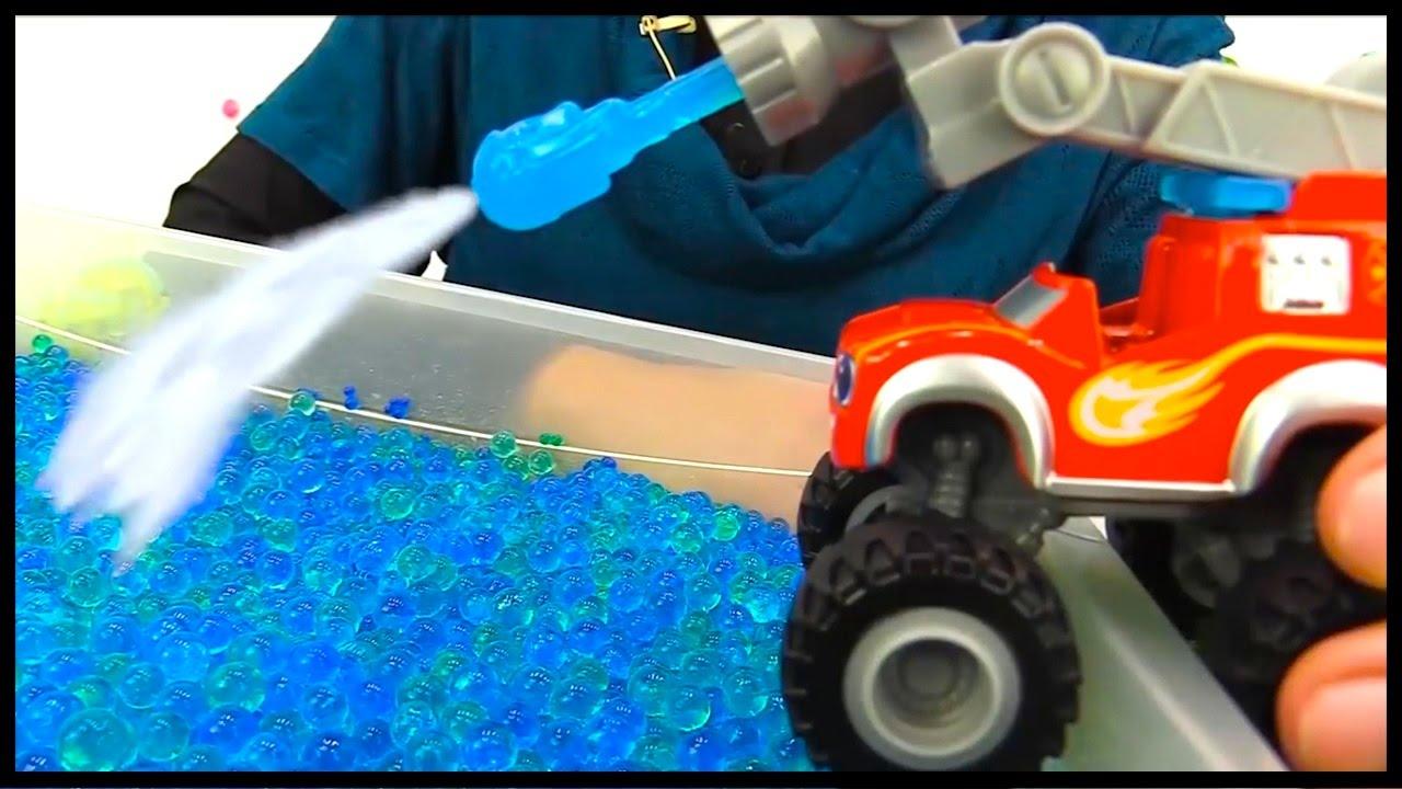 swim orbeez ocean videos for kids toy trucks toy cars story for kids blaze monster machines