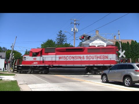 Wisconsin and Southern Freight Train - Genesee Depot