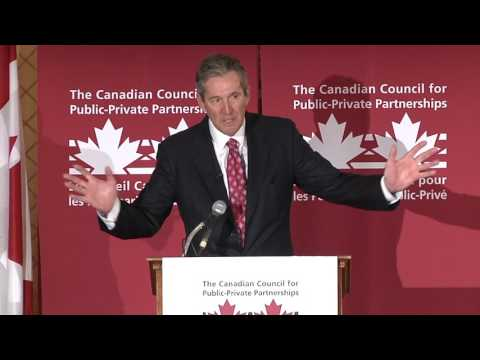 The Honourable Brian Pallister Premier of Manitoba: The Future of P3s in Manitoba