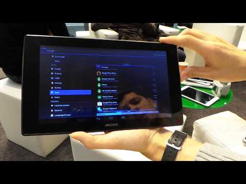 android market tablette archos 101