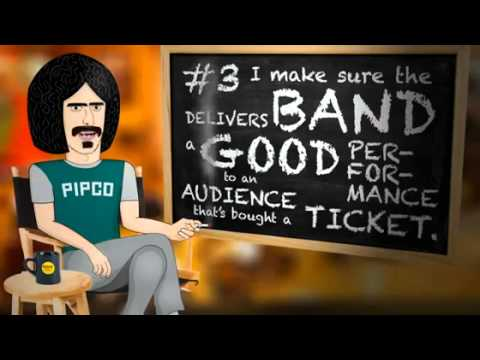 A Business Lesson By Frank Zappa