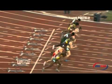 how to prepare for 100m sprint