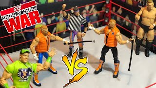 GTS Figure WRESTLING: Hawkins vs Hawkins Who Wins? WWE Figure Animation PPV Event