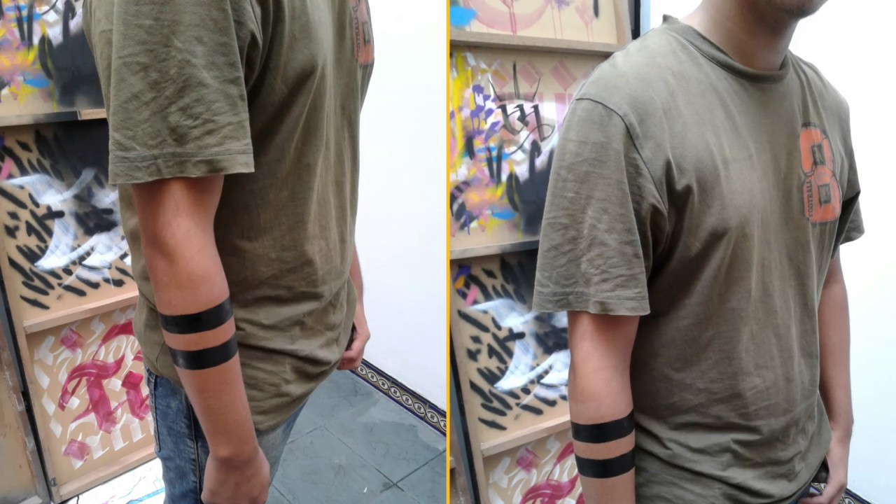 Lineas En Tatuaje Temporal En El Estudio De Tatuajes Temporales Net