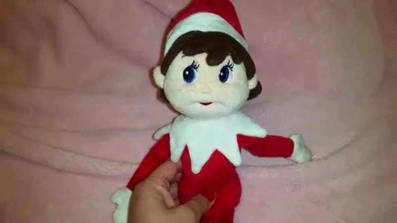Elf On The Shelf Girl Plushee Pal Youtube