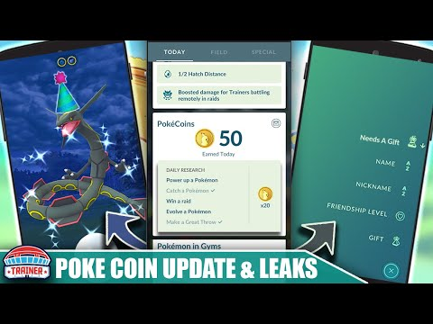 NEW POKÉCOIN SYSTEM UPDATES & DRAGON FESTIVAL LEAK! POKÉMON GO UPDATES COMING SOON | Pokémon GO from YouTube · Duration:  11 minutes 14 seconds